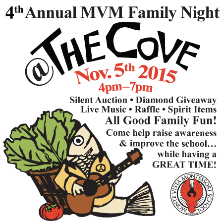 4th Annual MVM Family Night at the Cove